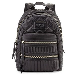 Marc Jacobs Domo Genuine Leather Backpack